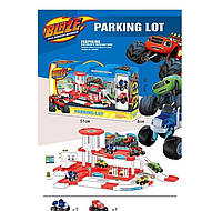 Детская парковка-гараж, Вспыш и чудо машинки
