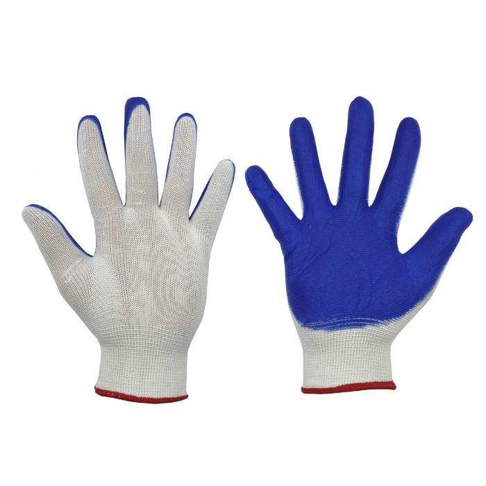Перчатки стрейч женские, с ПВХ напылением, 12 пар/уп.