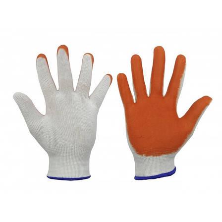 Перчатки стрейч женские, с ПВХ напылением, 12 пар/уп., фото 2