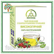 Чай зелений з карпатськими травами «Високогірний» 100г