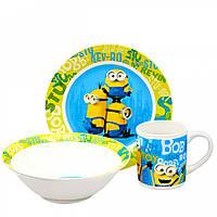 """Дитячий набір посуду """"Міньйон"""" MIN 44, фото 1"""