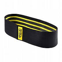 Резинка для фитнеса и спорта тканевая 4FIZJO Hip Band 3 шт 4FJ0072, фото 3