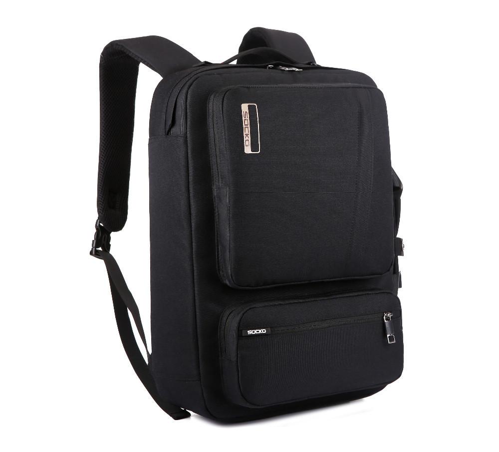 """Рюкзак для ноутбука Socko 17.3"""" Black (KA-60)"""