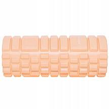 Массажный ролик (валик, роллер) Springos 33 x 14 см FR0021 Light Orange, фото 2