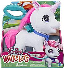 Интерактивный Единорог, ходит, звуковые эффекты FurReal Unicorn Walkalots Big, Hasbro Оригинал из США