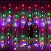 Гирлянда бахрома уличная (наружная) Springos 2 м 180 LED CL4005 Mix, фото 5