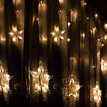 Гирлянда бахрома уличная (наружная) Springos 2 м 92 LED CL4010 Warm White, фото 2