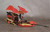 Конструктор Bela Ninja Летающий корабль Дар Судьбы Решающая битва, фото 3