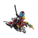 Конструктор Bela Ninja Летающий корабль Дар Судьбы Решающая битва, фото 7
