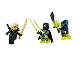 Конструктор Bela Ninja Летающий корабль Дар Судьбы Решающая битва, фото 8