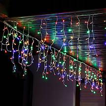 Гирлянда бахрома уличная (наружная) Springos 20 м 500 LED CL503 Mix, фото 3