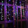 Гирлянда бахрома уличная (наружная) Springos 20 м 500 LED CL503 Mix, фото 4