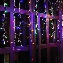 Гирлянда бахрома уличная (наружная) Springos 12 м 300 LED Pilot CL307 Mix, фото 3