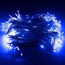 Гирлянда бахрома уличная (наружная) Springos 3 x 3 м 306 LED Pilot CL4002 Blue, фото 3