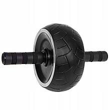 Ролик (колесо) для пресса Springos AB Wheel FA5030 Black/Grey
