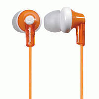 Вакуумные наушники Panasonic RP-HJE118 Orange , гарнитура