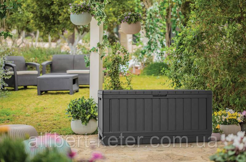 Садовый чулан, сундук для хранения Keter Kentwood 350 L