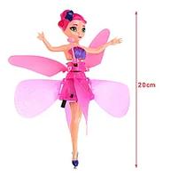 Игрушка Летающая фея Flying Fairy принцесса эльфов с сенсором от руки usb юсб игрушка для девочек вертолет