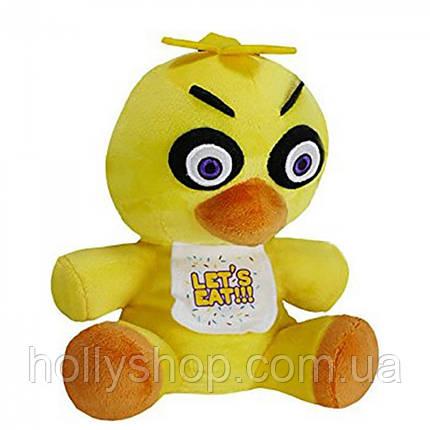 М'яка іграшка П'ять ночей з Фредді аниматроник - Chica Чіка 18см, фото 2