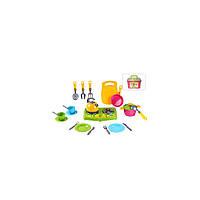 Детская кухня и посуда игрушечная Технок Кухонный набор в чемодане 23 элемента от 3 лет