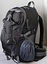 Рюкзак туристичний Free Knight Сіро-чорний (Free Knight 35), фото 3