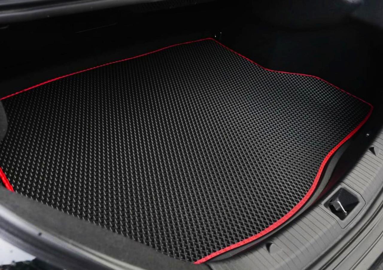 EVA коврики в багажник автомобиля Audi A6 C5 II пок. (1997-2004) Sedan лекало оригинал (2-вида)