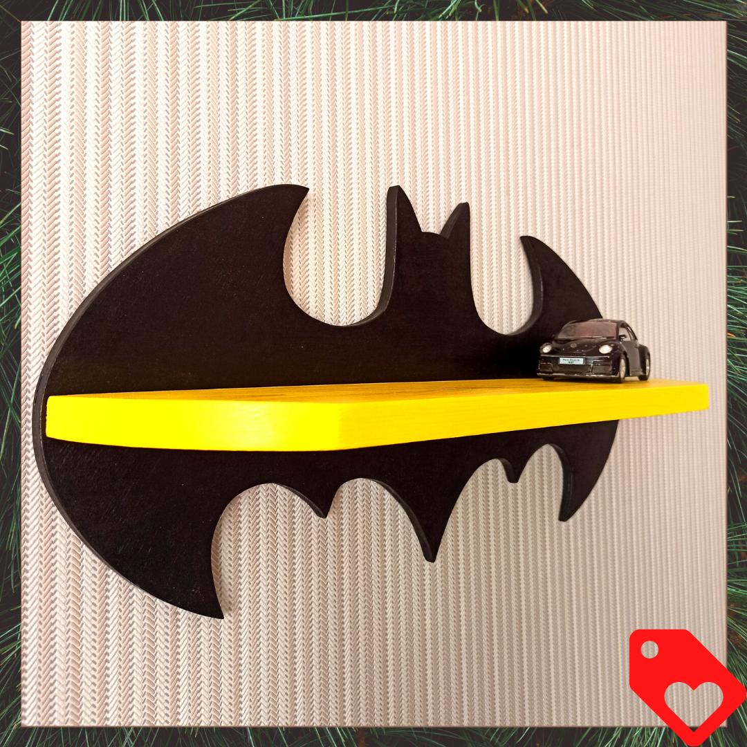 Настенная детская полка Бэтмен