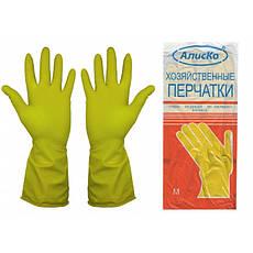 """Перчатки хозяйственные """"Latexs"""", резиновые, фото 2"""