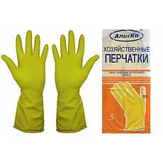 """Перчатки хозяйственные """"Latexs"""", резиновые, фото 3"""