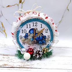 Новогодний подарок часы из конфет Раффаэлло. Корпоративные подарки на Николая, Новый год Рождество