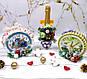 Новогодний подарок часы из конфет Раффаэлло. Корпоративные подарки на Николая, Новый год Рождество, фото 4