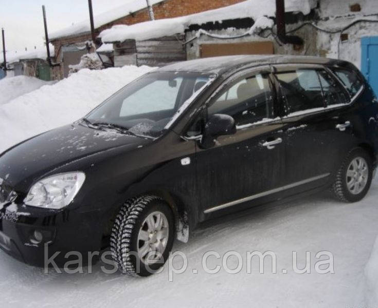 Ветровики на Kia Carens III 2006/Rondo 2007-2012