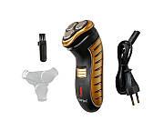 Беспроводная аккумуляторная бритва для бритья GEMEI PRO GM 7111 Original