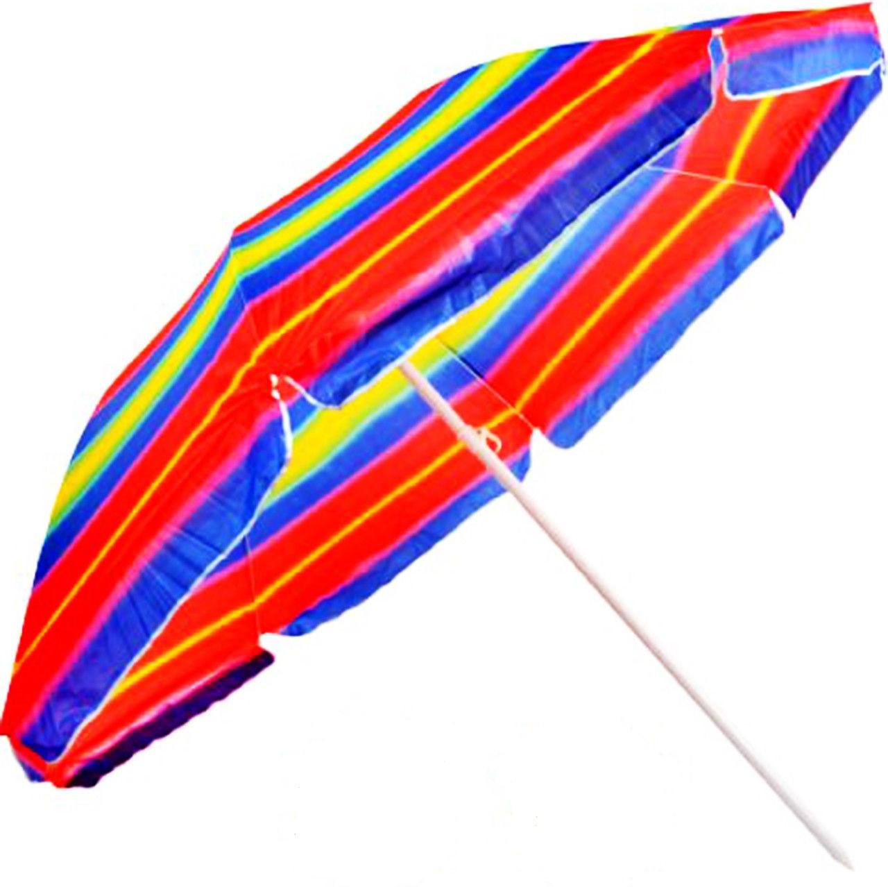 Пляжний зонт HMD Anti - UF 2.2 м Різнобарвний (127-12511298)