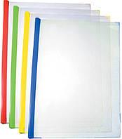 Папка Economix с планкой-прижимом, Е31205, 9мм, 2-65 листов