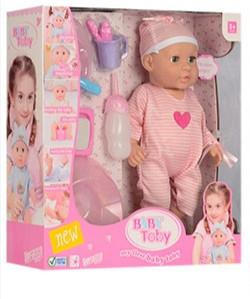 Кукла-пупс интерактивная, говорящая, розовый костюмчик, соска, бутыл, горшок, 30801-30801-5 Baby Toby