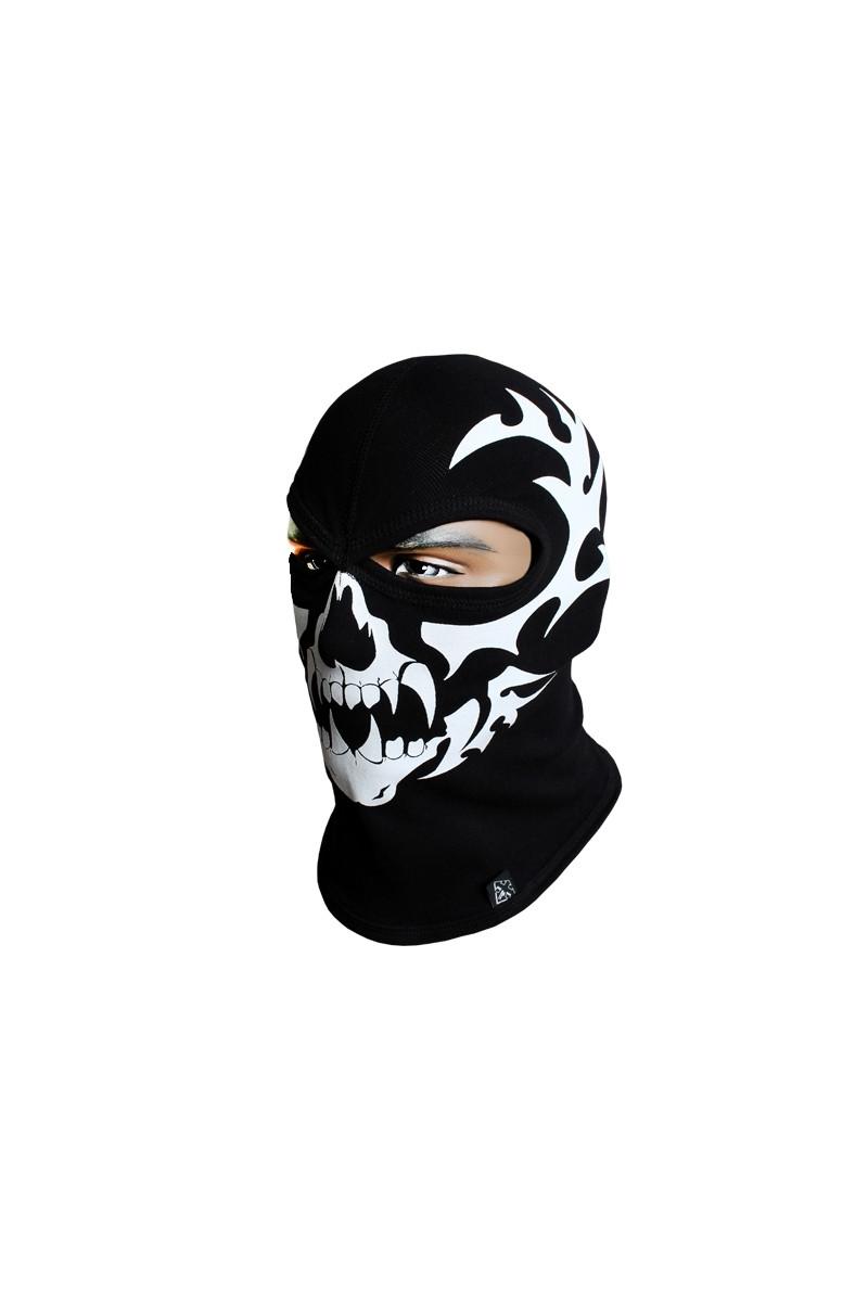 Балаклава Radical Skull s5 M/L Черно-белый (r0942)