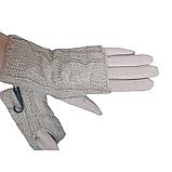 Перчатки женские сенсорные бежевые М 7,5, фото 3