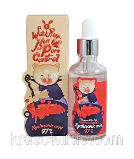 Сыворотка гиалуроновая кислота 97% Оригинал Elizavecca Hell-Pore Control Hyaluronic Acid 97%, 50 мл