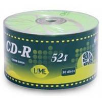 CD-R 50 шт KAKTUZ CD-R 700Mb Lime