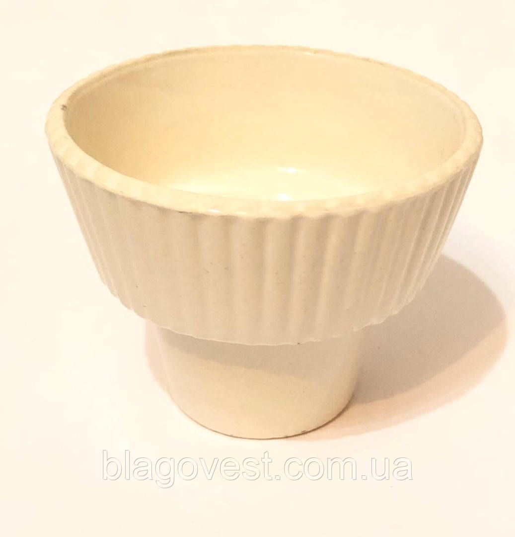 Керам. стакан большой (белый)