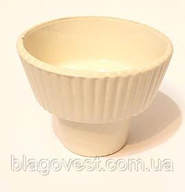 Керам. стакан великий (білий)