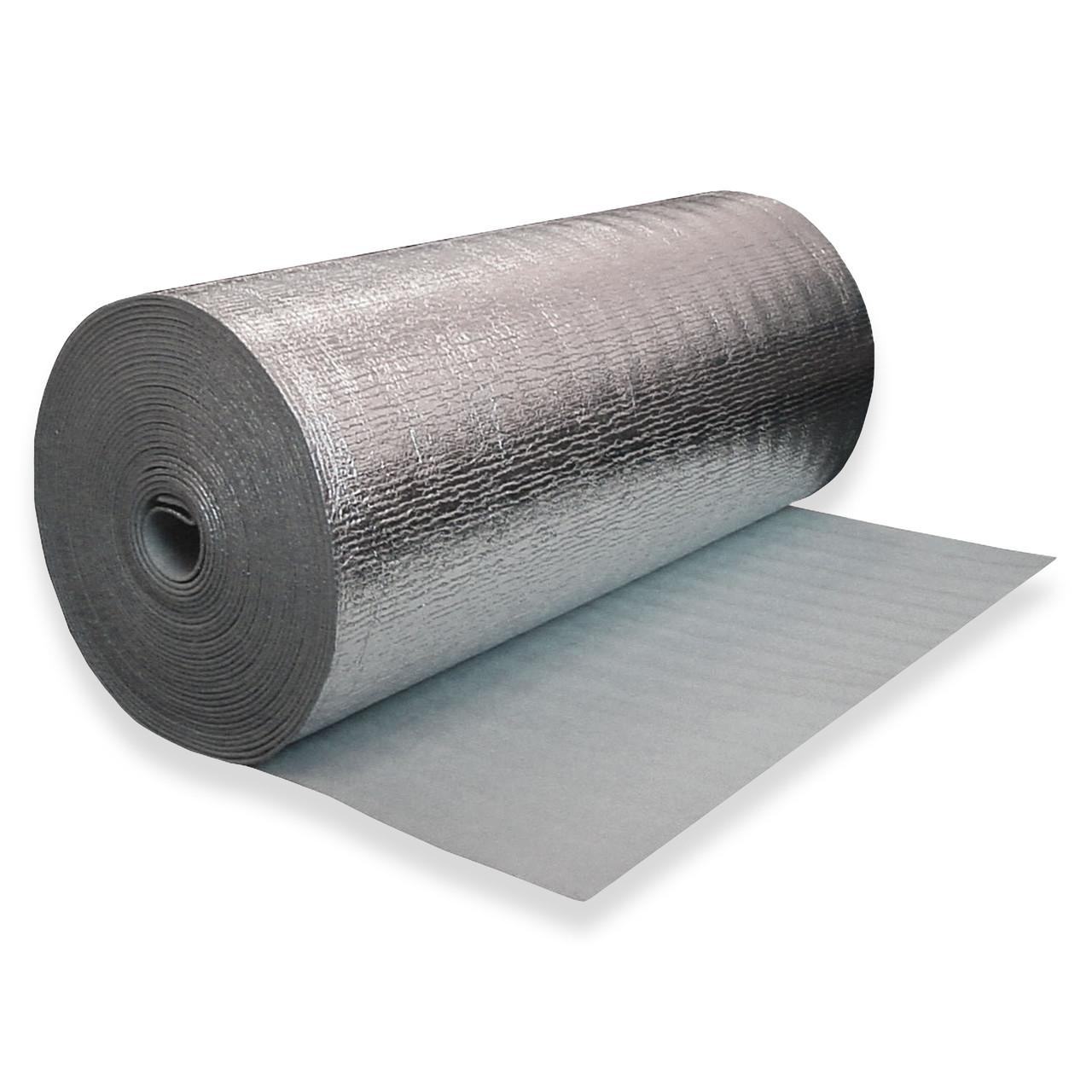 Газовспененный полиэтилен фольгированный, 4 мм (50 м2)