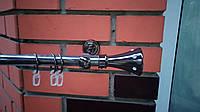 Карниз кованый одинарный 19мм Диана  оникс-2,4м