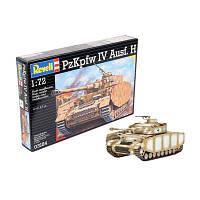 Сборная модель-копия Revell Танк T-IV уровень 4 масштаб 1:72