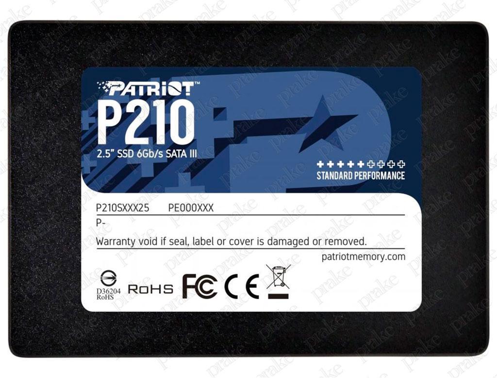 "Накопитель SSD 2.5"" 128GB Patriot P210 (P210S128G25)"