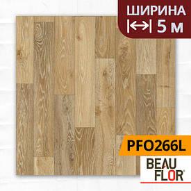 Лінолеум ПВХ Beauflor Pietro Havanna Oak 634M, Ширина - 5 м; 2.25/0,25 - побутової