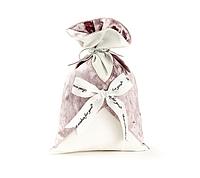 Подарунковий мішечок сіро-пудровий, фото 1