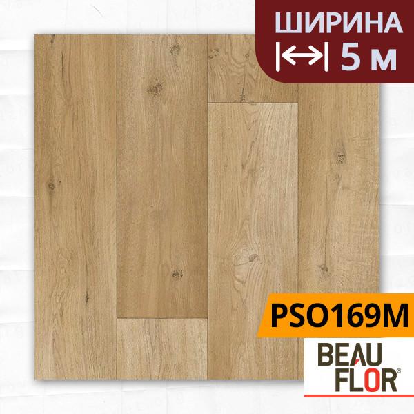 Линолеум ПВХ Beauflor Pietro Spanish Oak 169M, Ширина - 5 м; 2.25/0,25 - бытовой
