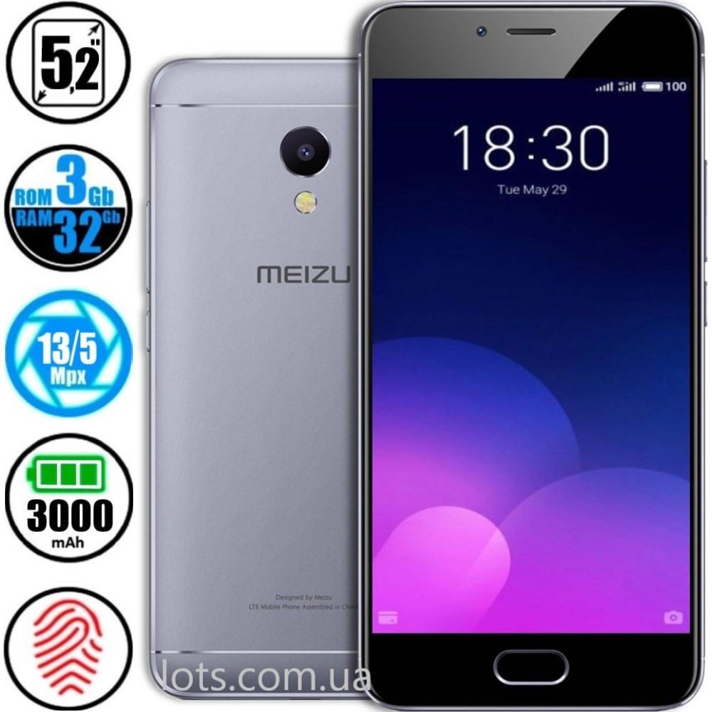 Смартфон Meizu M5s (3/32GB) Grey